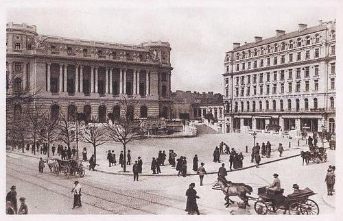 """Promenada de la Grand Hotel du Boulevard la """"ostrovul"""" Sf.Elefterie"""