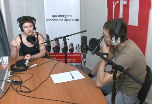 Interviu Sandra Ecobescu la RFI