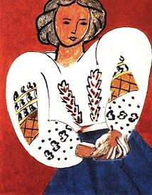 "Henri Matisse ""La Blouse Roumaine"""