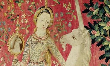 Doamna cu licornul. Animale fantastice, simboluri si heraldica