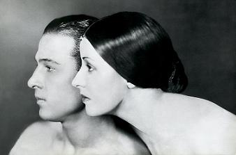 rudolph & natacha valentino 1921 – by james abbe