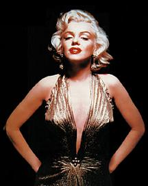 marilyngolddress1