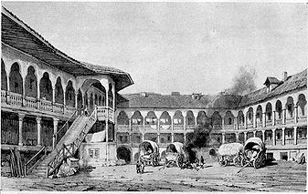In vizita la Hanul Manuc, cu istoricul Georgeta Filitti