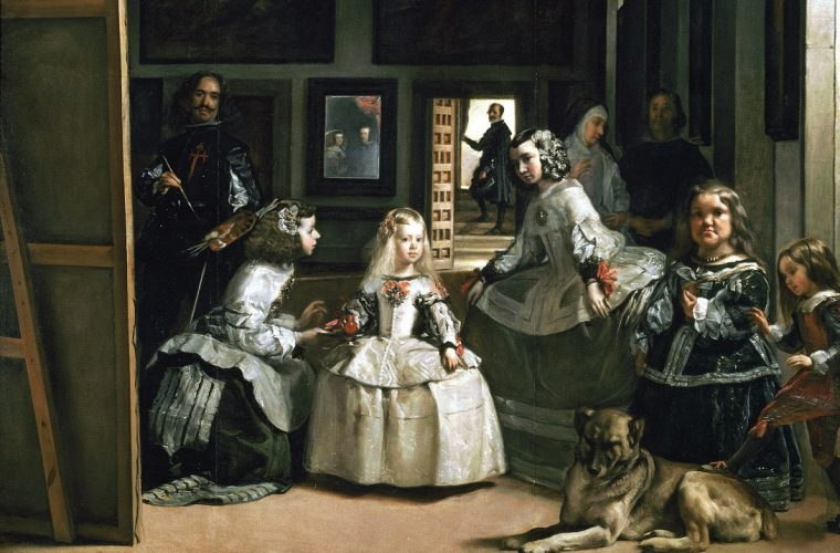 Portretul ca alegorie a picturii: Diego Velázquez, Las Meninas