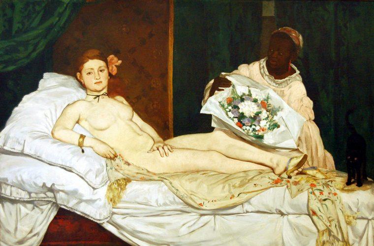 """Descifrand tablouri celebre: """"Olympia"""", de Edouard Manet"""