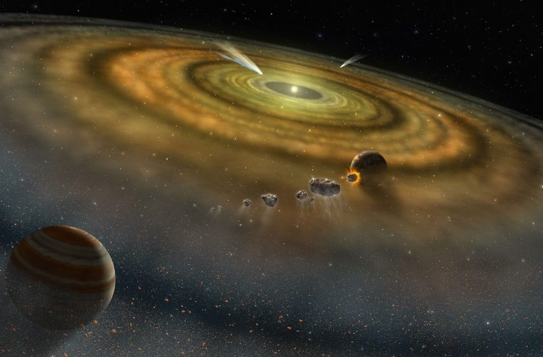 Calatorii in spatiul cosmic, aselenizare si meteoriti