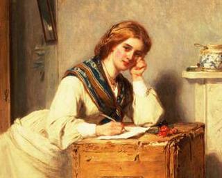 Pe vremuri oamenii isi trimiteau scrisori, cu G. Filitti