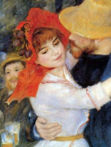 t_Renoir – Dance in Bougival (Detail)