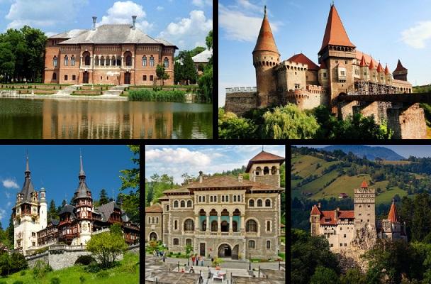 Palatele şi Castelele ştiute şi neştiute ale României