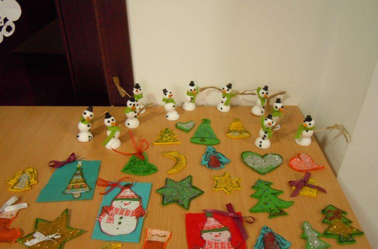 Daruri pentru Mos Craciun: Atelier pentru copiii de la Centrul de zi Sfanta Sofia