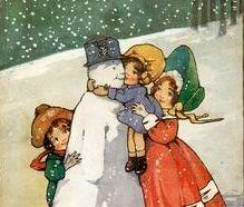 Poveste de iarnă cu unicorn de foc, mos (Craciun) si strumf mustacios :)