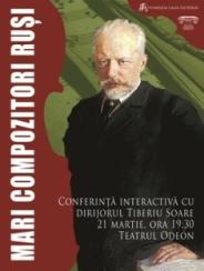 Mari compozitori ruşi, cu dirijorul Tiberiu Soare