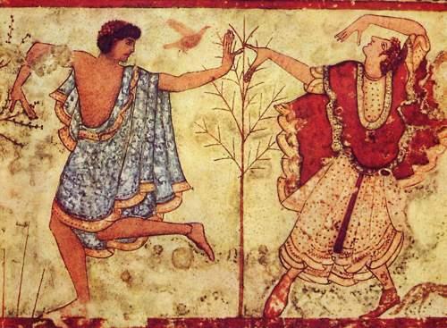 Etruscii: zâmbetul arhaic al unui popor necunoscut