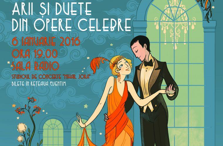 CONCERT EXTRAORDINAR DE ANUL NOU  – Arii şi duete din opere celebre, cu Tiberiu Soare