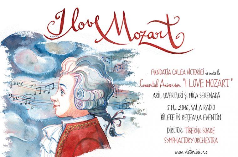 """""""I LOVE MOZART"""" – CONCERT de GALĂ sub bagheta dirijorului Tiberiu SOARE"""
