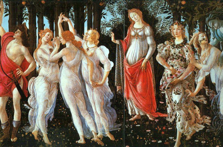 """""""Mitologiile"""" lui Botticelli – 6 tablouri celebre"""