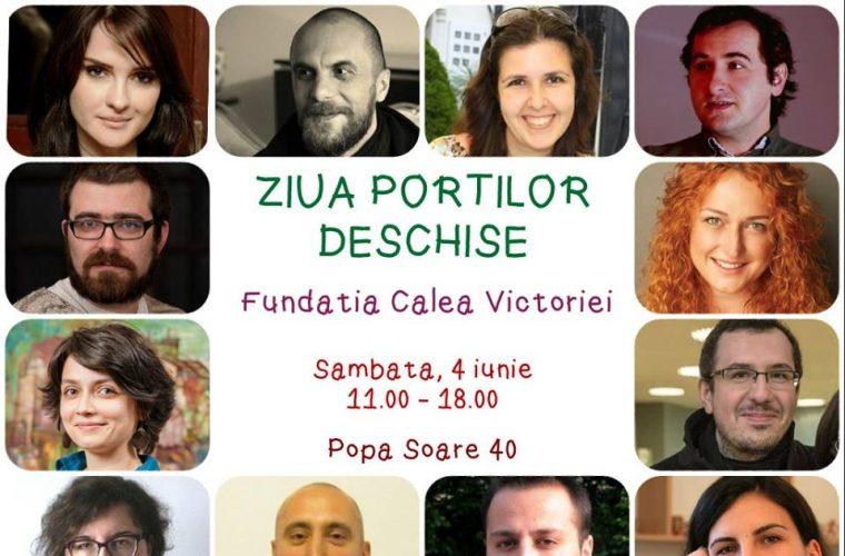 Ziua Porţilor Deschise – Ateliere gratuite şi Târg de Vară, simbata 4 iunie