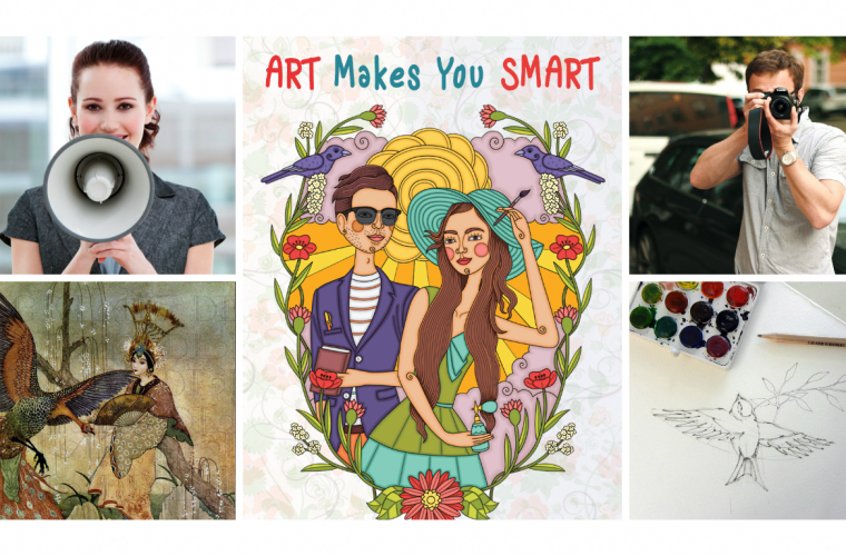ART MAKES YOU SMART! Castiga o invitatie la cursul preferat