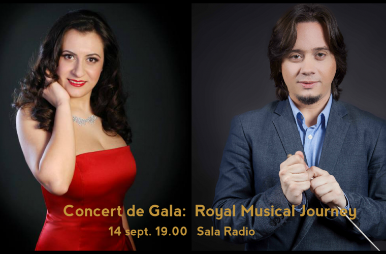 Concert de Gala: Royal Musical Journey – 14 septembrie, Sala Radio, 19:00