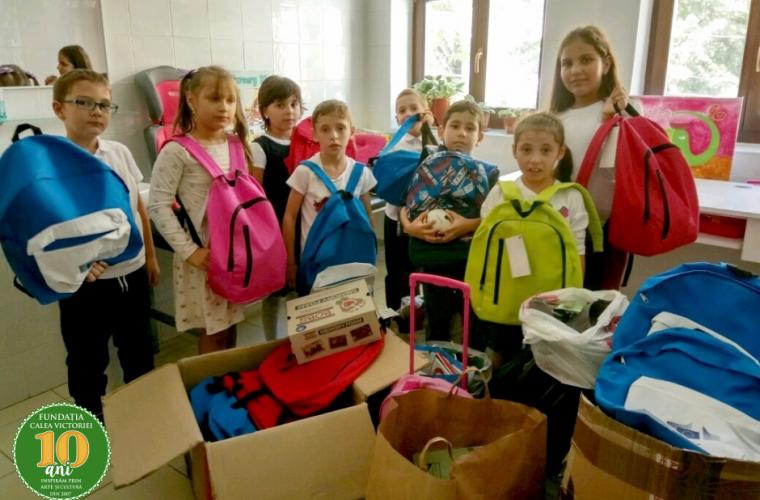 Copiii de la Centrul de zi Sfânta Sofia au început şcoala cu zâmbetul pe buze