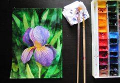 curs ilustrație flori