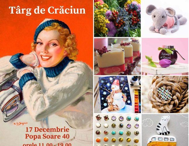 Târgul de Crăciun de la Fundaţia Calea Victoriei – Cadouri şi delicatese culturale