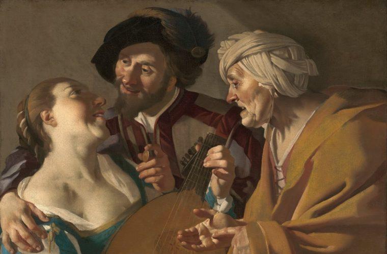 Eros şi muzică în pictura olandeză din secolul al XVII-lea