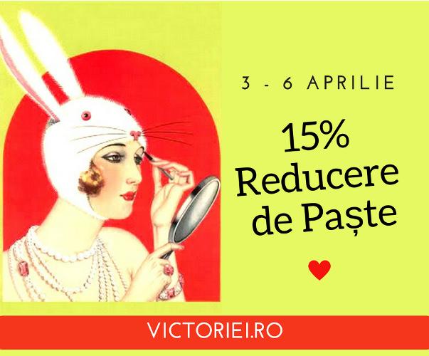 Promoţie specială de Paşte: 15% Reducere la Cursuri de Relaxare, Arte şi Dezvoltare personală (3-6 Aprilie)