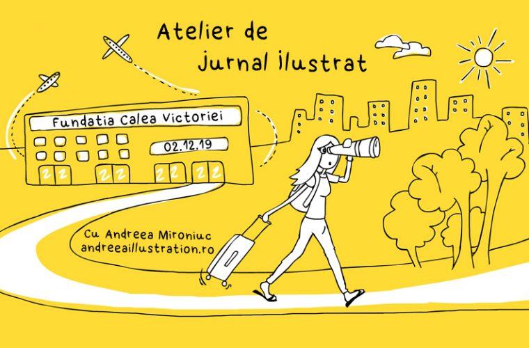Atelier de jurnal ilustrat – Storytelling prin imagini