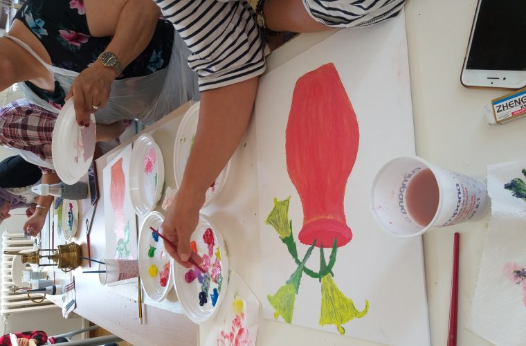Interviu cu Samira Esfahani –  participantă la Şcoala de Vară de Desen şi Pictură