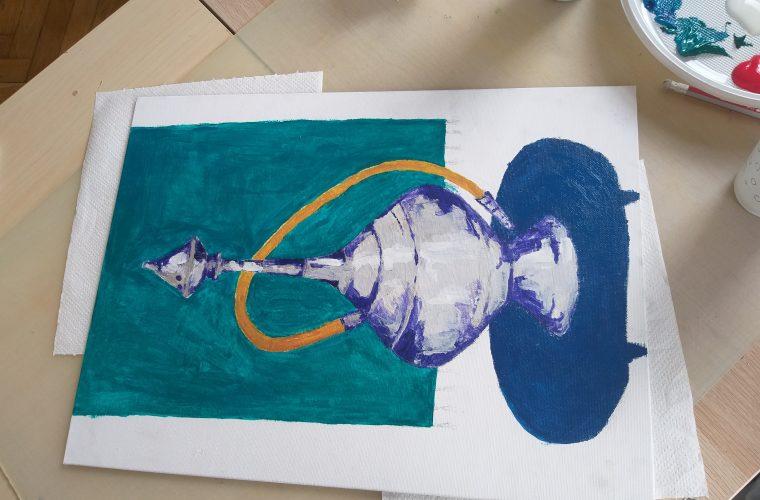 Interviu cu Elina Esfahani – participantă la Şcoala de vară de Pictură şi creativitate
