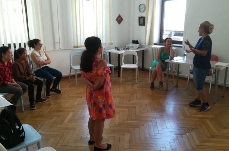 Interviu Karina Nagy – lectorul Şcolii de Vară de Dicţie şi Actorie