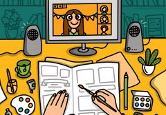 atelier jurnal ilustrat