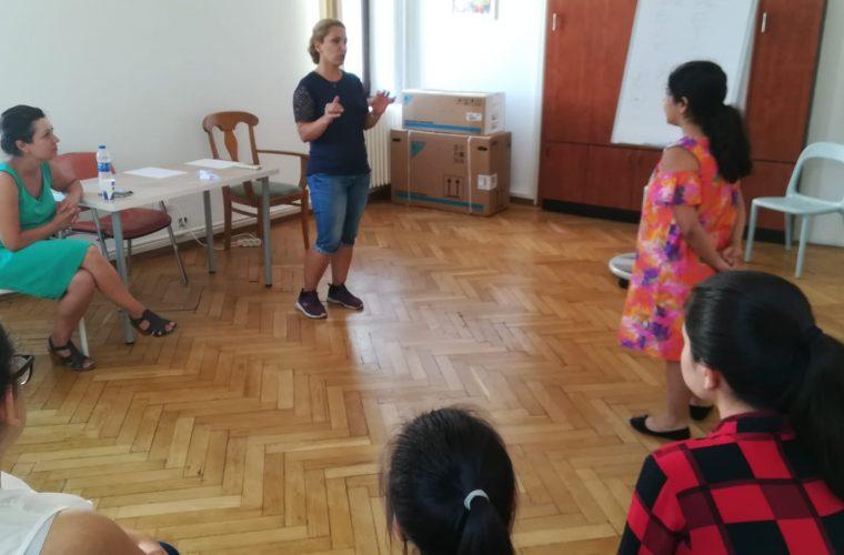 Interviu cu Samira Esfahani – participantă la Şcoala de Vară de Dicţie şi actorie