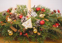 ornamente masa de craciun