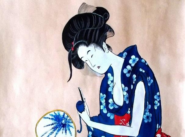 Atelier de grafică: tuşuri colorate şi stampă japoneză