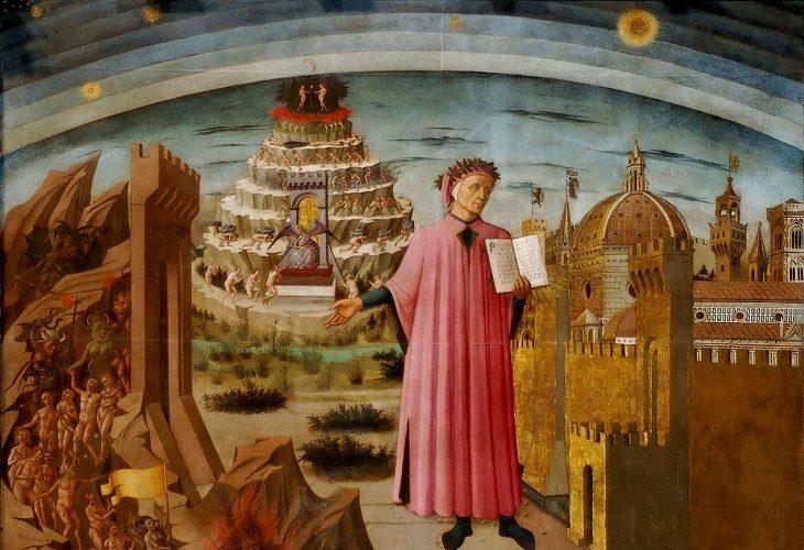 Divina Commedia – pelerinul, călăuza şi drumul