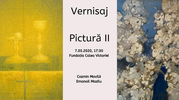Vernisaj: Expoziţie de pictură Cozmin Movilă şi Emanoil Mazilu