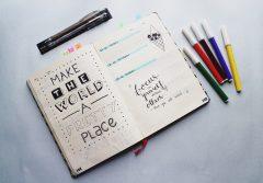 bullet journaling pentru adolescenti