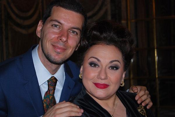 Marius Constantinescu în dialog cu soprana Leontina Văduva