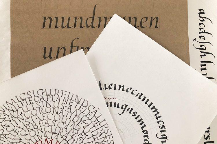Introducere în caligrafie (28 iunie – 2 iulie)