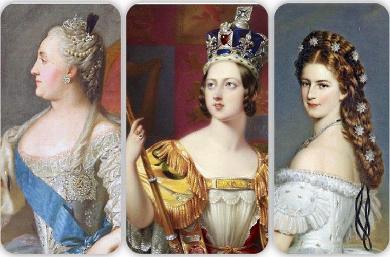 Trei împărătese celebre – Ecaterina cea Mare, regina Victoria şi împărăteasa Elisabeta (Sissi)