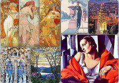 De la Art Nouveau la Art Deco. Artă, modă și societate (16-19 iulie)